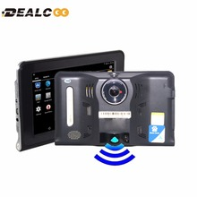 7 inch GPS Android GPS Navigation DVR Radar Detector 16GB Disk AVIN support Rear View Camera WiFi Internet Tablet Google Play(China (Mainland))