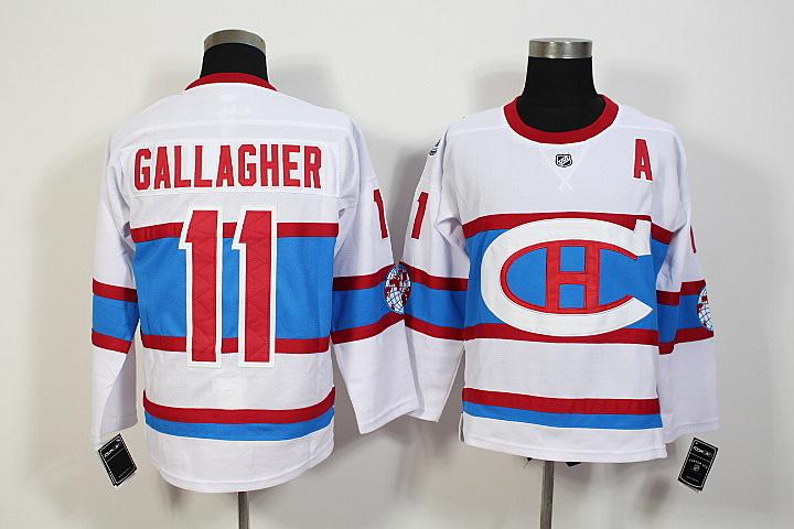 2016 Winter Classic Montreal Canadiens Artemi Panarin Jersey #11 Brendan Gallagher stitching High quality Ice Hockey Jerseys(China (Mainland))