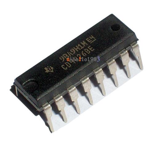 10pcs CD4026 CD4026BE 4026 IC CMOS Counters Decade/Divider DIP-16(China (Mainland))