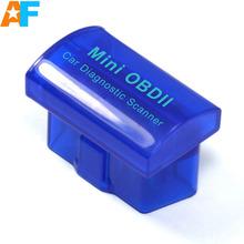 Livraison gratuite! Super MINI ELM327 Bluetooth V2.1 MINI OBDII ELM 327 Bluetooth OBD / OBD2 voiture Diagnsotic Scanner fonctionne sur Android / PC