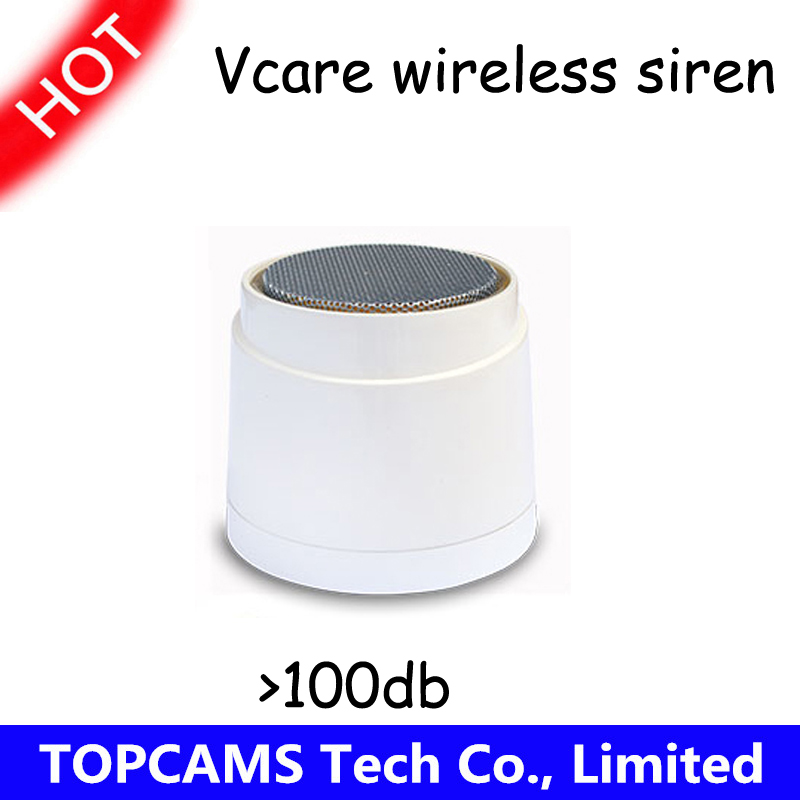 vcare Wireless strobe siren for GSM&WIFI vcare A kits home security alarm systems with backup battery Volume more than 110db(China (Mainland))
