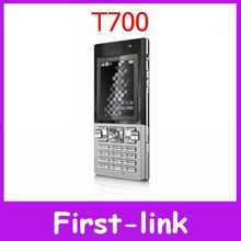 Unlocked Original Sony Ericsson T700 Cell Phone GSM Quad band 3G Bluetooth Email FM Mp3 One year warranty FREE SHIPPING