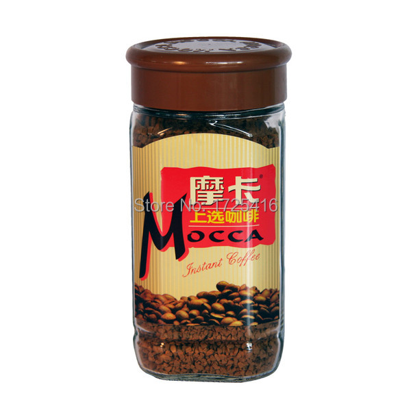 MOCCA 155g bottle of instant coffee on selected free shipping
