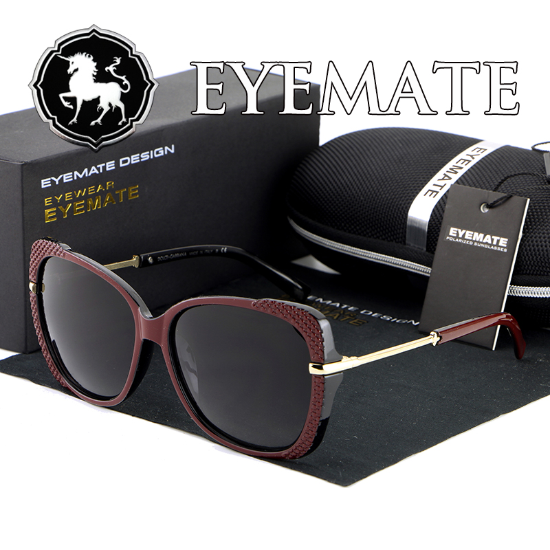 polarized sun glasses for women feminino Sunglasses Women Glasses brand Women Sunglass oculos free shiping(China (Mainland))