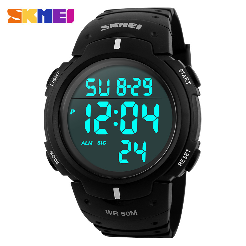 Skmei Brand Men Sports Watches Digital LED Military Watch Swim Alarm Outdoor Casual Wristwatches Hot Fashion Clock New 2015(China (Mainland))