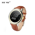 New fashion DM365 Smart Watches waterproof leather Bluetooth smartwatch for xiaomi iphone samsung huawei cellphone smartphone