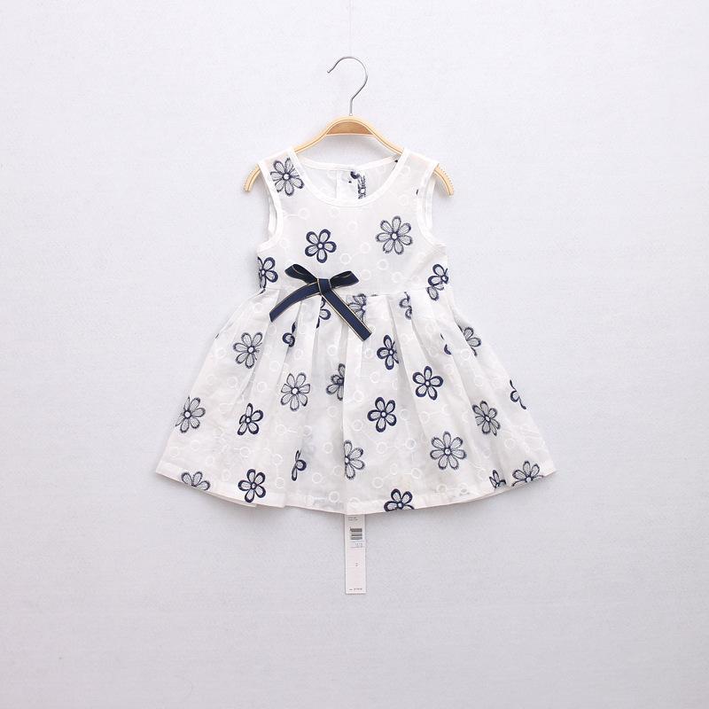 Vestido Festa Kids Brand Clothes Enfantil Sleeveless Vest Princess Baby Girl  Dress Kids Clothes Children Clothing  Wholesale<br><br>Aliexpress