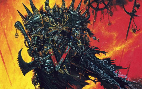 Warhammer weapons fantasy art armor artwork games 4 Sizes Home Decoration Canvas Poster Print(China (Mainland))