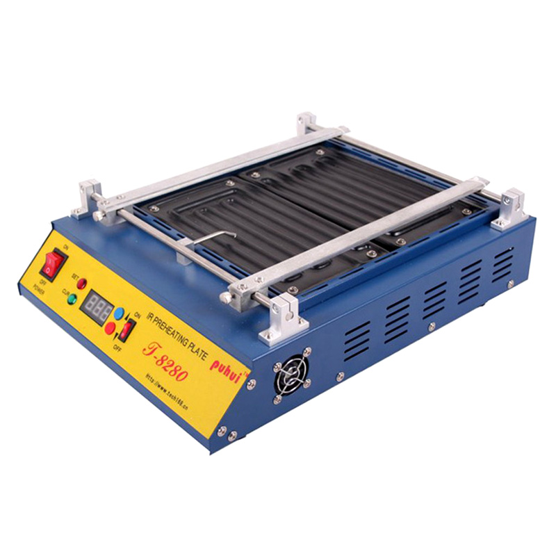Authorized Original PUHUI T-8280 Preheating Oven T8280 Preheat Plate Infrared Pre-heating Station FOR PCB SMD BGA soldering(China (Mainland))
