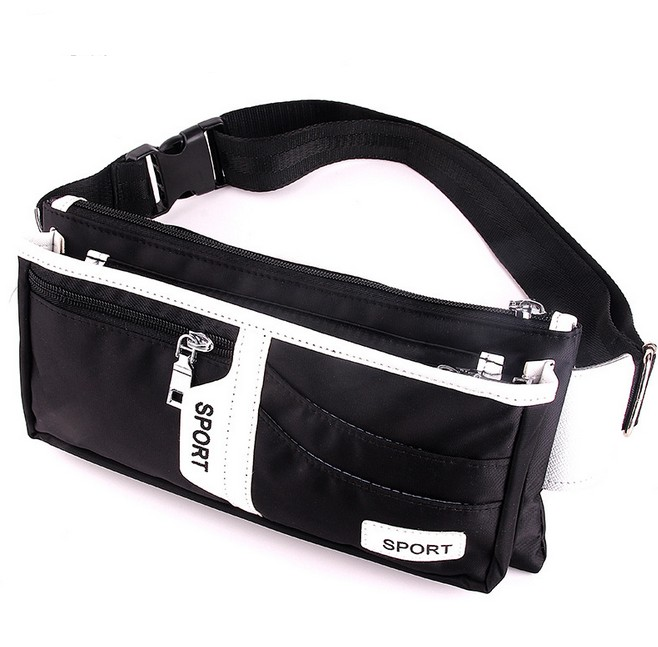 Top Quality Waterproof Canvas Waist Packs Outdoor Sports Belt Bag Portable Large Capacity Men Waist Bag Wholesale(China (Mainland))