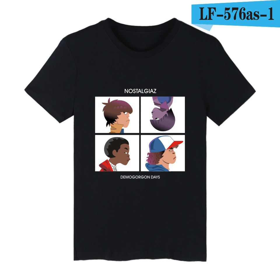 Large size hot style stranger - thing, personality trend cotton short sleeve T-shirt(China (Mainland))