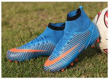 HoYeeLin Frauen Rasen Fußball Schuhe TF Stollen Chuteira Gesellschaft Training Fußball Stiefel Hohe Ankle Sport Turnschuhe EU Größe 35 ~ 45(China)