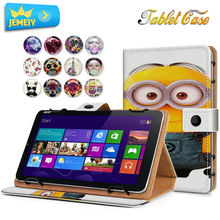 """8"""" Universal Leather Tablet Case  For Nokia N1 /Acer Iconia Tab 8 A1-840 FHD Tablet cover , Flora Printed Stand cases For Acer"""