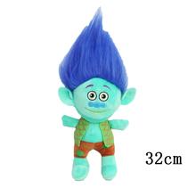 NEW 23-32cm Movie Trolls Plush Toy Poppy Branch Dream Works Soft Stuffed Cartoon Dolls The Good Luck Trolls Gift for Child(China)