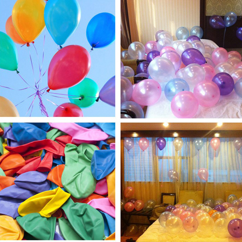 10pcs/lot 10inch Latex Balloon Air Balls Inflatable Party Supplies Wedding Decoration Kid Birthday Float Balloons(China (Mainland))