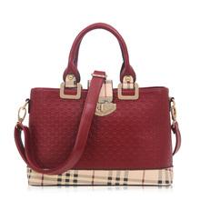 New Saffiano PU Leather Women Handbags Fashion Shoulder Bag High Quality Women Messenger Bag OL Famous Bag ST2860 Bur gundy