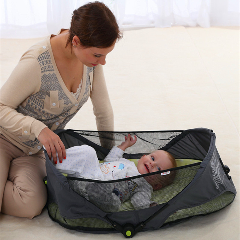 10% Off Baby Playpen Crib Travel Baby Stroller Sleeping Bag For Mummy Diaper bag Mummy bags The Playpen Baby Corral Para Bebe<br><br>Aliexpress