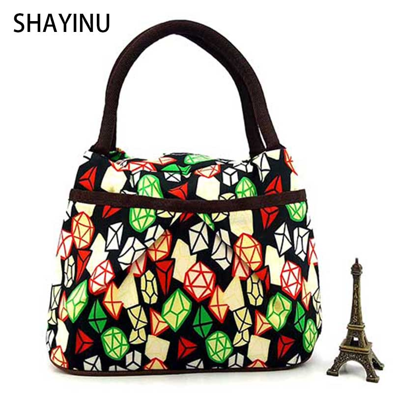 Geometry pattern Design Women Handbag Durable Portable Handbags Female Small Casual Tote Bag Shopping lunch bag bolsa feminina(China (Mainland))