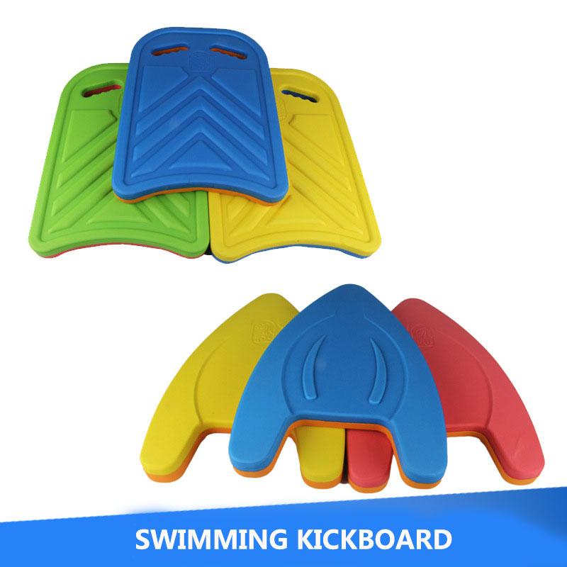 Two Types Child Swim Learning Kickboard Rectangle Shape Floating Board EVA Kids Swimming Mattresse Board(China (Mainland))