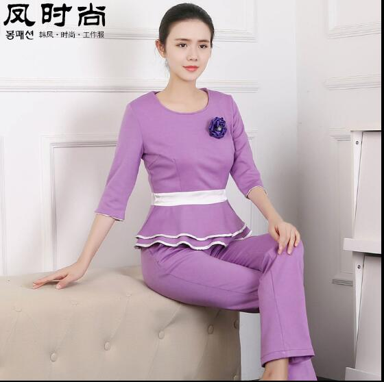 Online buy wholesale medical aprons from china medical for Spa uniform indonesia