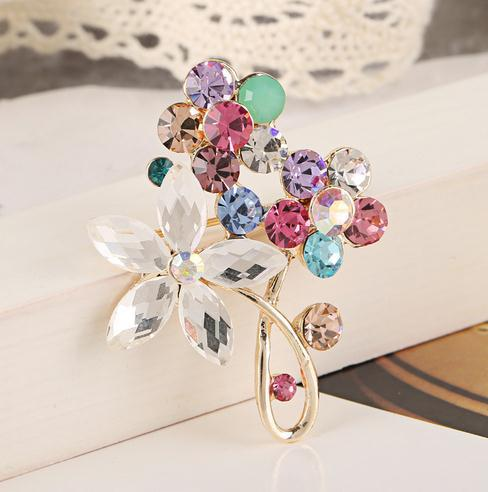 Flower best retro Brooch boutique manufacturers supply outlet super low specials new products sales b8xxw(China (Mainland))