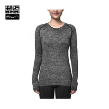 BMAI Brand Woman Shirts Running Fitness Breathable Fitness Sportswear Quick Dry Jackets Long-Sleeved Outdoor Shirt #FRTB008