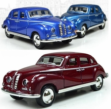 Alloy Models For Children Toy Car Back To Classic Vintage Antique Car Coupe Static Models(China (Mainland))