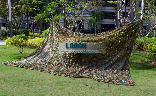 4x4m hunting camping woodland camouflage netting military camo net party ornament decorations/free storage bag FREE SHIPPING(China (Mainland))