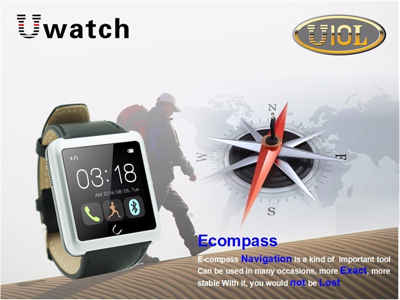 2016 New Arrival U10L Bluetooth Smart Watch Smartwatch Sync Phone Call SMS for IOS Android Smartphones Updated U8 U10-in stock