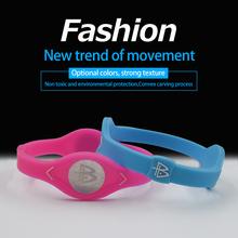 Power Energy Hologram Bracelets for Women in Design Brand Men Sport Wristbands Balance Therapy Bracelets Magnetic Bracelet(China (Mainland))
