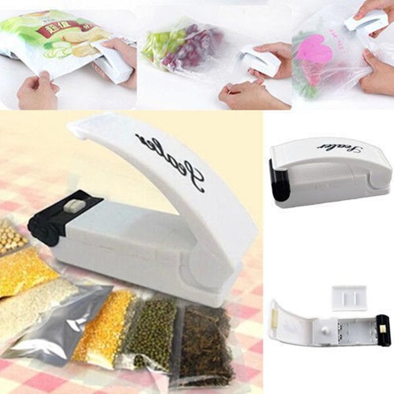 New Fashion Mini Vacuum Sealing Machine Super Sealer Tool Mini Portable Electric Sealing Machine(China (Mainland))