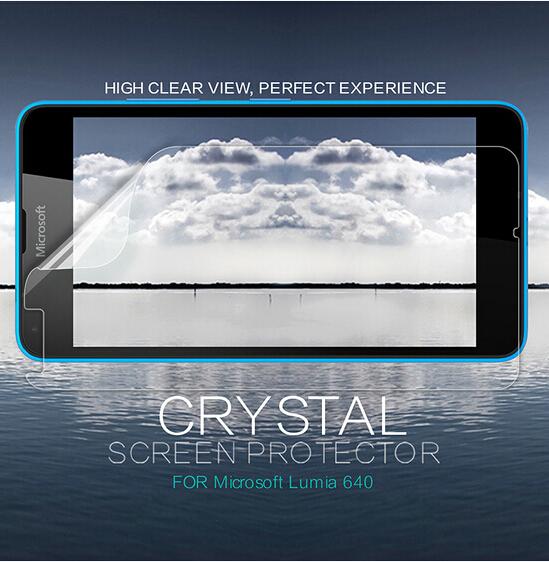 все цены на  Nillkin HD передняя пленка для Microsoft Lumia 640 протектор для Lumia 640 защитная пленка экрана  онлайн