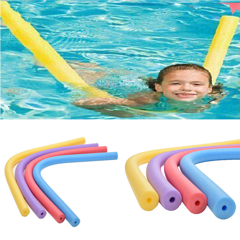 EPE hollow pool noodle 6.0x50cm Multiple functions for kids creative developing Water toys,3pcs/lot(China (Mainland))