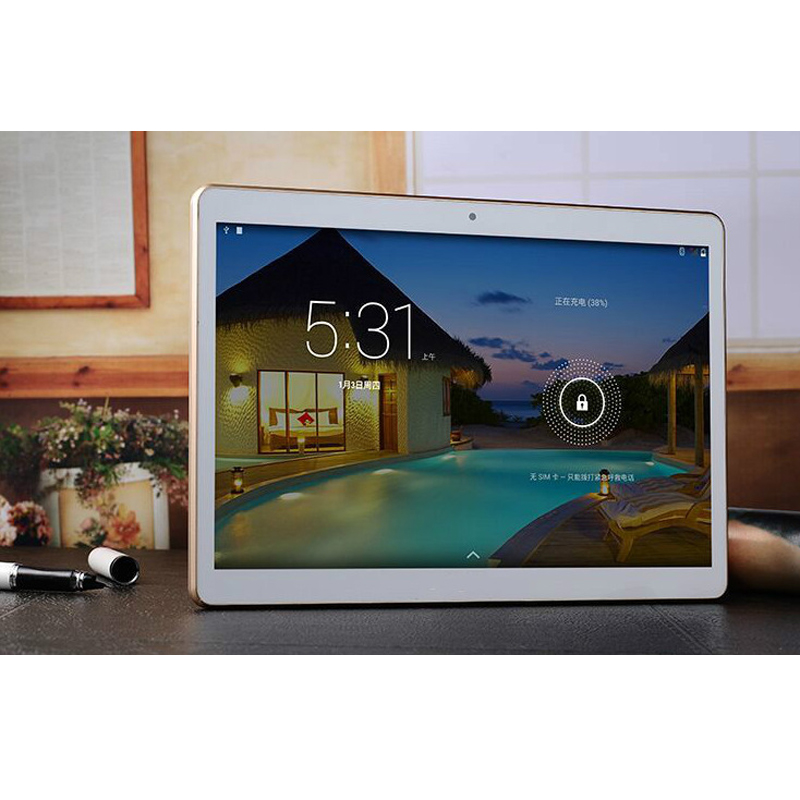 WIFI Android 5.1 10 inch Tablet PC MP3 Player, 4GB RAM 64GB ROM 8 Cores 1280*800 GPS FM Tablet Pc for Kids Gift(China (Mainland))