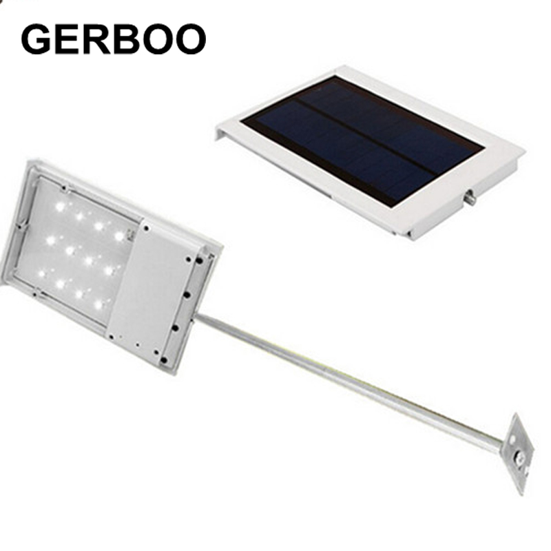 Solar Power LED Street Lamp High Brightness 12SMD LED Lamp Corridor Courtyard Yard Outdoor Lighting Solar Panel ABS+Aluminum<br><br>Aliexpress