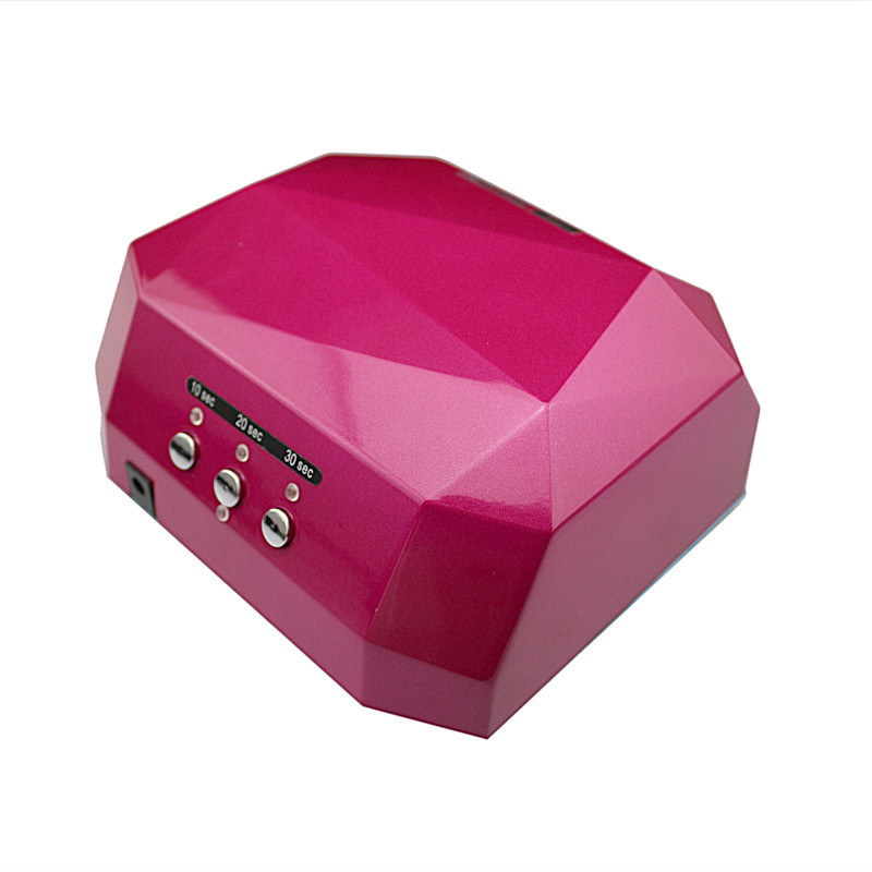 various colors style lampe led and uv gel polish dryer machine ccfl nail art led lamp drying. Black Bedroom Furniture Sets. Home Design Ideas