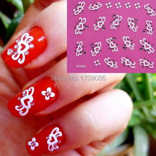 3d Nail Art Stickers Decal