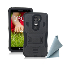 Buy Protective Armor Impact Hard Case Cover Holster Stand+Belt Case LG G2 D801 D802 LS980/G2 VERIZON VS980/G2 Phone Back Cover for $6.99 in AliExpress store