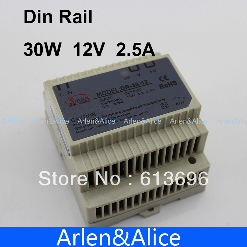 30W 12V  Small Volume Single Output Switching power supply for LED Strip light<br><br>Aliexpress