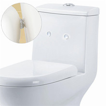 The Best Price 24Pcs Self Adhesive Transparent Closestool Cover Cupboard Anti Collision Colloid Home Bathroom Product(China (Mainland))