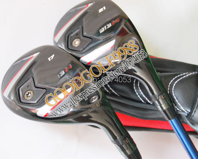 FreeShipping New Golf Clubs 913-H Golf Hybrids wood17/19/21/24loft 2pcs/lot with Tour AD BB-6 Graphite shafts Golf hybrids clubs<br><br>Aliexpress