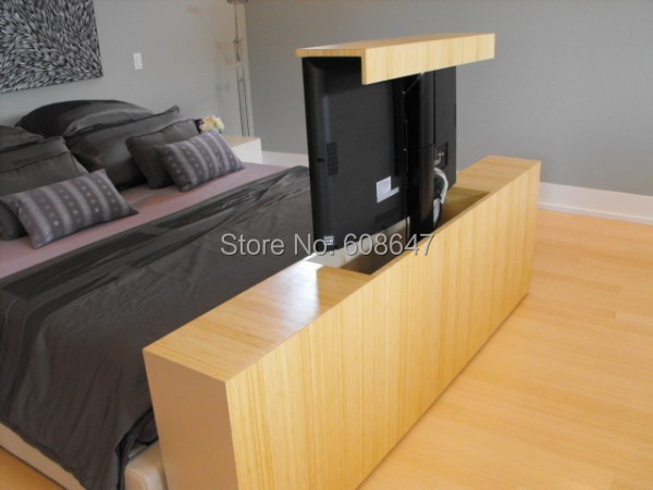 small motorized tv lift for family in other metal. Black Bedroom Furniture Sets. Home Design Ideas