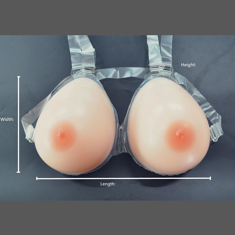 Topleeve 500g/pair A cup Silicone breast form fake breast artifical breast  Mastectomy Crossdress Transvestite user<br><br>Aliexpress