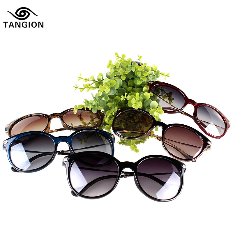 2015 Vintage Brand Sunglasses Women Retro Points Men Sun UV400 Protect Glasses Sun Glasses Oculos De