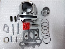 High Performance 47mm Big Bore 80cc Cylinder Kit Scooter GY6 80cc 139QMB 139QMA Engine Chinese Scooter Motorcycle Parts