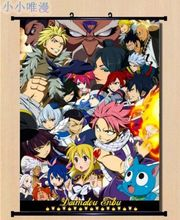 New FAIRY TAIL Wall Scroll Home Decor poster cosplay japan anime natsu
