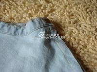Американский Одежда светло голубой бюст юбка