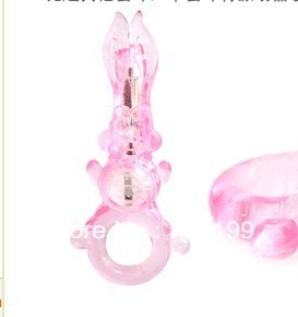 11.5cm exotic rabbit vibrating penis ring, vibe ring, delay ring sex toy for men s293