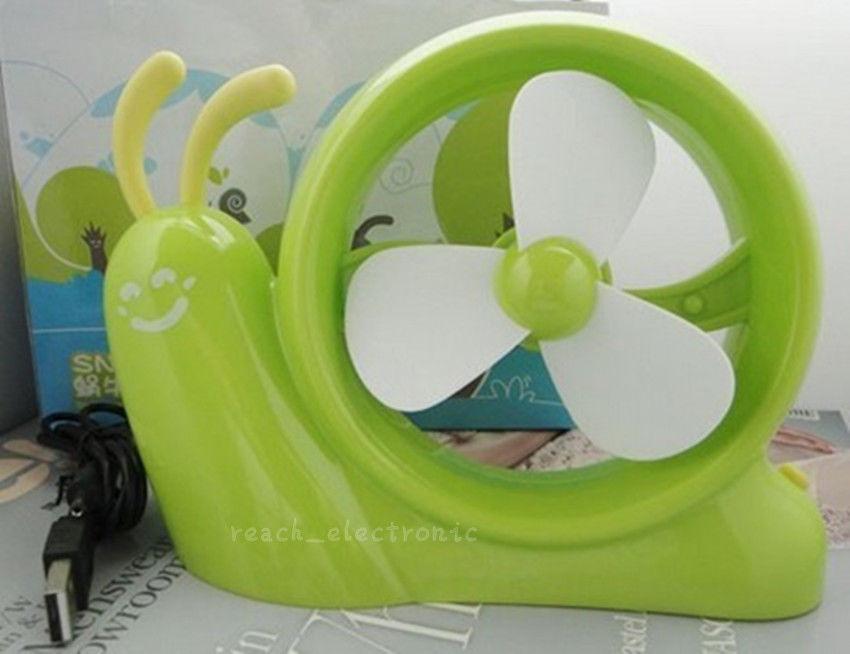 Snail mini portable usb small fan usb small fan mini battery small fan