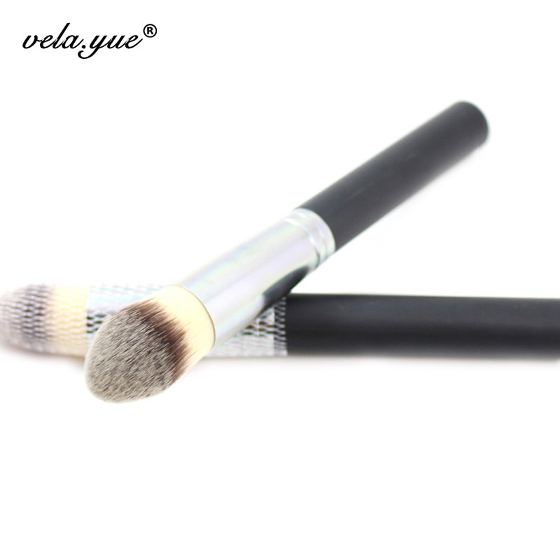 Synthetic Pointed Foundation Brush Large Tapered Contour Powder Kabuki Brush(Hong Kong)